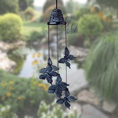 Woodstock Percussion Castings Butterfly Wind Chimes