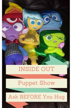 Create Social Stories: Inside Out puppet show. Help your child understand their emotions and when to use them. Also works to help your child interupt others emotions. #InsideOutEmotions #ad