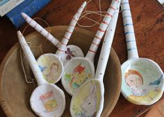 clay spoons by julie whitmore