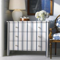 Kittery Bay Cottage Awning Stripe Chest By Bassett