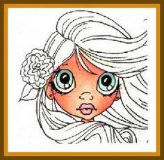 My passion for colors - Skin: E00-11, R20-22; Eyes: BG72-11-10; Lips: R85, RV23-11