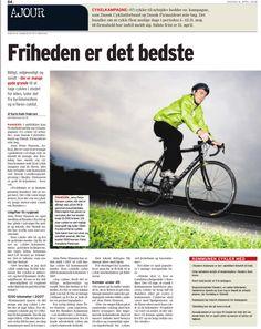 2008 var vist førsteår, hvor jeg sørgede for at Randers Byråd stillede med hold til VCTA (hvilket vi har gjort lige siden). I den anledning spurgte Amtsavisen: Hvad er detbedste ved at cykle? Friheden er det bedste!