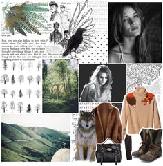 """We must away ere break of day, To seek the pale enchanted gold. // WiW"" by accio-logic ❤ liked on Polyvore"