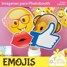 Emojis nena Photobooth