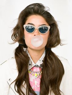 Flower Power Silk Shirtdress, Whiteout Moto Jacket, Neon Stone Necklace - sunglasses coming soon!