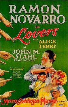"""Ramon Novarro ~ """"Lovers"""" 1927..."""