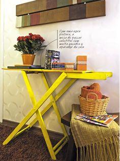 Reaproveitar Tábua de Passar roupas... - Cantinho Organizado Sweet Home, Iron Board, Corner Desk, Projects To Try, House Design, Furniture, Home Decor, Tinta Spray, Jamie Oliver