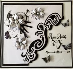 Honey Doo Crafts Acrylic Stamps - Sample Gallery Butterfly Cards, Flower Cards, Honey Doo Crafts, Stamps By Chloe, Party Gifts, Tea Party, Christmas Cards To Make, Sympathy Cards, Craft Stamps