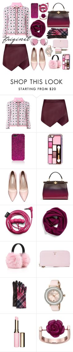 """""""Original..."""" by ornellav ❤ liked on Polyvore featuring Fendi, Yves Saint Laurent, Halogen, Serapian, Portolano, Ted Baker, Clarins, French Connection, women's clothing and women"""