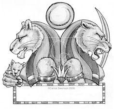 altar to sekhmet | Sekhmet by carisaswenson13