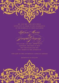 bollywood themed party | Bright Wedding Invitations That Would Be Perfect for a Summer ...