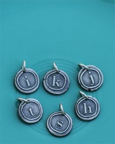 lowercase vintage initials Product Image