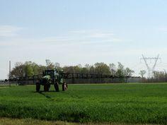 Spraying Wheat/ Looney Farms