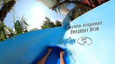 Caneva Aquapark Frozen Bob (Right Second) 360° VR POV Onride Vr, Frozen, Youtube, Youtubers, Youtube Movies