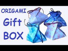"""Origami - Gift box """"Díszdoboz"""""""