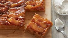 Caramel-Apple Upside-Down Cake,this is definitely a dessert to top of a good meal. From Betty Crocker even better.#ad