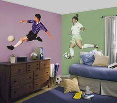 soccer bedrooms   Soccer Room Decor   Interior Design For The Bedroom