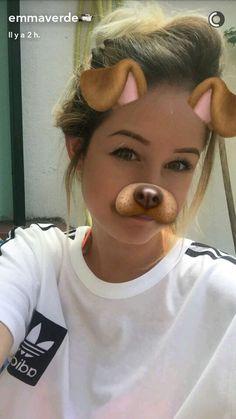 Emma verde {♡} Emma Verde, Snapchat, Youtubers, Insta Goals, Girly, Stars, Minion, Celebrities, Dyi