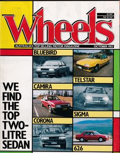 October 1983 Vintage Australian Wheels Magazine Birthday or Christmas Idea for Him by SuesUpcyclednVintage on Etsy