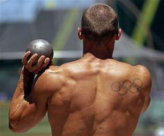 Trey Hardee, U.S. Olympic Decathlete, Shot Put