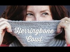 1 Hour Project: Herringbone Cowl - YouTube