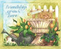 Lang March Abundant Friendship calendar by Diane Knott Decoupage Vintage, Decoupage Paper, Stencil, Welcome Images, Art Calendar, Calendar Wallpaper, Wallpaper Desktop, Country Art, Kitchen Art