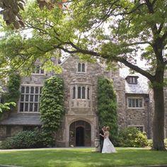 Skylands Manor Castle at The New Jersey Botanical Garden - Ringwood - New Jersey Bride