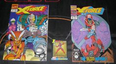 X force 1 and 2 and Deadpool card xforce 2 is 2nd deadpool appearance