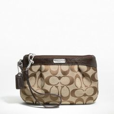 Don't forget Mother's Day is this weekend! Come look for something special! ♥NWT Coach Signature Wristlet Black♥Fits Most Smart Phones♥♥L Coach Handbags, Coach Purses, Purses And Handbags, Cheap Coach Bags, Classic Tan, Coach Outlet, Coach Wristlet, Coach Clutch, Handbags Online