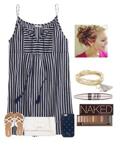 """Happy Fathers Day everyone!"" by raquate1232 ❤ liked on Polyvore featuring J.Crew, Betsey Johnson, Volcom, Sole Society, Kate Spade, Maybelline and Urban Decay"