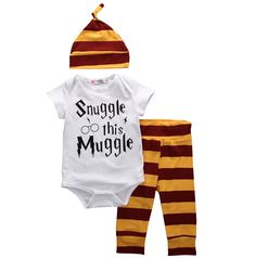 "Calling all Harry Pottery Parent fans! Enter the world of Hogwartz by welcoming your own little Muggle home AND.... ""Snuggle this Muggle""   FREE SHIPPING Please"