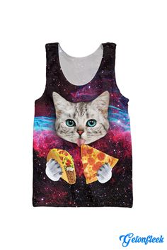 Taco Cat Tank Top - Shop our entire collection of Cat Apparel! www.getonfleek.com