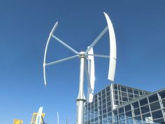 Vertikale Windkraftanlagen   Verbraucher-Tipps vom Profi New Energy, Alternative Energie, Energy Technology, Solar Power, Wind Turbine, Green, Design, Tips
