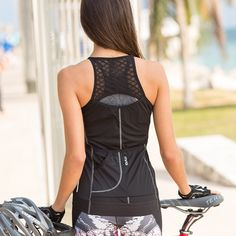 MPG Women's Bitcoin Tank Cycling Jersey