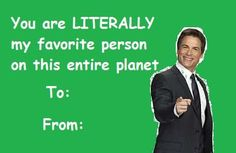 """13 Valentines For """"Parks And Recreation"""" Fans : 13 Valentines For """"Parks And Recreation"""" Fans Do I compound your interest? Meme Valentines Cards, Bad Valentines, Valentines Gifts For Boyfriend, Valentines Day Shirts, Valentine Ideas, Printable Valentine, Homemade Valentines, Valentine Wreath, Valentine Box"""