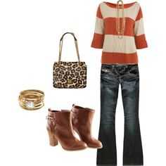 fall.  @Crystal Ray this was almost your outfit the other day and I loved it!
