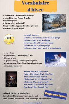 C'est l'hiver, et vous ne savez pas quoi dire. Vous êtes paralysés par le froid ? Rassurez-vous, voici une liste de vocabulaire de l'hiver en anglais qui va vous permettre de vous exprimer.