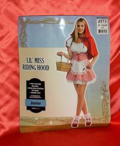 """Lil' Miss Riding Hood "" Halloween Costume by RUBIE'S Jrs. Size Small #Rubies #CompleteCostume"