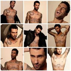 Adam Levine is not only sexy but he has an awsome sense of humor. Love watching the Voice.