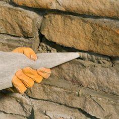 Repairing a Stone Wall Better Homes Gardens Stone Masonry, Stone Veneer, Patio Wall, Diy Patio, Patio Ideas, Better Homes And Gardens, Diy Retaining Wall, Dry Stone, Basement Walls