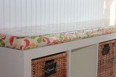 Ikea Bookshelf Bench For The Activity Room Between Bedrooms