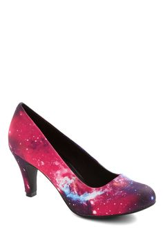 Galaxy After My Own Heart Heel | Mod Retro Vintage Heels | ModCloth.com