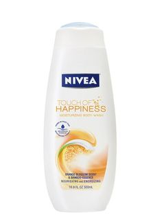 1. Nivea Touch of Happiness Moisturizing Body Wash, $5.95 This bright idea of an orange-blossom body wash from Nivea is formulated with Nivea's Skin Sensation Technology and bamboo-derived essence for leaving skin smooth (but not stripped of natural oils).