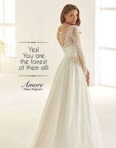 ||Today's mood|| 𝒀𝑬𝑺! 𝒀𝒐𝒖 𝒂𝒓𝒆 𝒕𝒉𝒆 𝒇𝒂𝒊𝒓𝒆𝒔𝒕 𝒐𝒇 𝒕𝒉𝒆𝒎 𝒂𝒍𝒍!! Κλείσε τώρα το #ραντεβού σου στο 2310234929 💻 www.amore-nifika.gr 📍 Αγίας Σοφίας 46 , #Θεσσαλονίκη #nifikaamore #nyfika #bride #myday #specialday #uniquebride #yesido #bridalwear #booknow #biancoevento Fairest Of Them All, Aspen, Wedding Dresses, Fashion, Bride Dresses, Moda, Bridal Gowns, Fashion Styles, Weeding Dresses