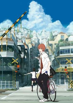 The Girl Who Leapt Through Time. From the studio that brought you Summer Wars. I loved this movie!