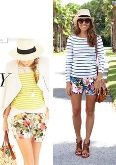 J's Everyday Fashion provides outfit ideas, budget fashion, shopping on a budget, personal style inspiration, and tips on what to wear. Warm Outfits, Short Outfits, Casual Outfits, Casual Wear, Js Everyday Fashion, Budget Fashion, Striped Tee, Casual Chic, Spring Summer Fashion