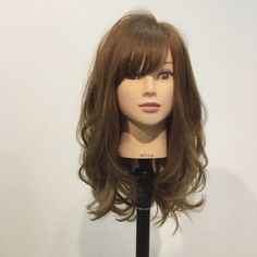 {98FDD090-57ED-45B0-8390-F8C74E7BB97B} Long Bob Hairstyles, Hairstyles With Bangs, Braided Hairstyles, Long Hair With Bangs, Long Hair Cuts, Medium Hair Styles, Curly Hair Styles, Hair Arrange, Asian Hair