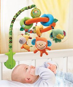 Love this Bedtime Go-With-Me Mobile Set by B Kids on #zulily! #zulilyfinds