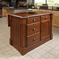 Have to have it. Home Styles Aspen Kitchen Island - $645.29 @hayneedle.com