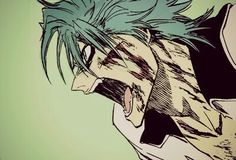 Awesome! Grimmjow from Bleach #manga